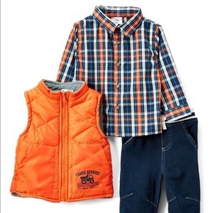 Trucker 3 Piece Outfit -3T